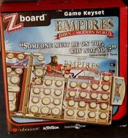 Ideazon / Steelseries Zboard Empires Dawn Of The Modern World Game Keyset -