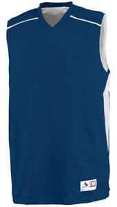 296a95b6da20 Augusta Sportswear Men s V Neck Sleeveless Slam Dunk Jersey Sports T ...