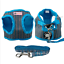 Soft-Cotton-Padded-Step-in-Dog-Harness-amp-Leash-Set-Puppy-Walking-Harness-Vest thumbnail 13
