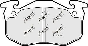 1x OE Quality Brand New Apec Brake Pad Set PAD1005-12 Month Warranty!