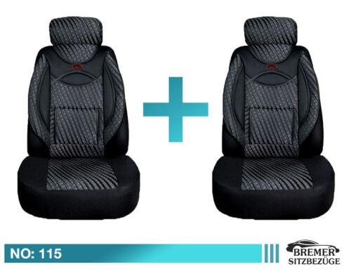 BMW 2er F22 F23 F45 F46 Schonbezüge Sitzbezüge Fahrer /& Beifahrer 115