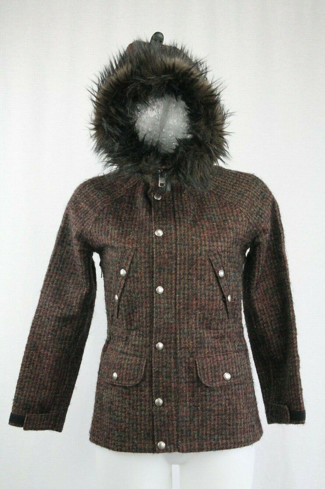 Junya Watanabe Gore Windstopper Windstopper Windstopper Comme des Garcons Tweed Hooded Coat, Größe  M | Vielfalt  | Mama kaufte ein bequemes, Baby ist glücklich  | Einzigartig  | Verschiedene aktuelle Designs  | Wirtschaft  a25752