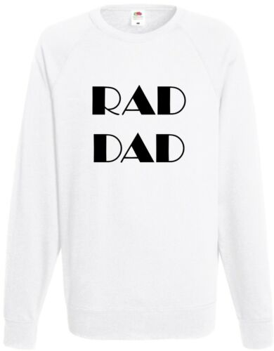 Rad Dad Sweatshirt Radical Vater Papa Daddy Vatertag Lustig Cool