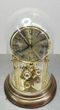 Ältere elektromechanische Trenkle Tischuhr Drehpendel Quartz Uhr ~70er