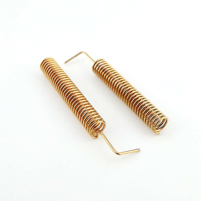 10pcs 315MHz 10W 50Ω Copper Spring Antenna 315MHz Helical antenna 23mm Length