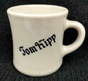 Tom-Kipp-Shaving-Mug-Heavy-Porcelain-German-Shepard-Dog-Cup-Vintage-Barber-Shop