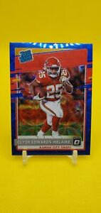 2020 Donruss Optic Clyde Edwards-Helaire Blue Scope Rated Rookie KC Chiefs 🆎️