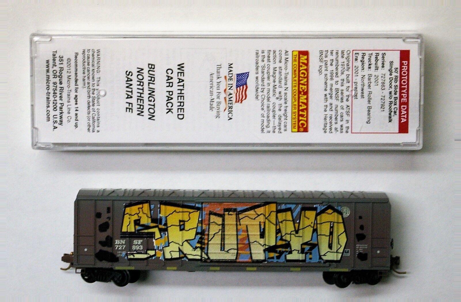 il miglior servizio post-vendita MTL Micro-i treni 25740 BNSF various various various  s FW  risparmia il 60% di sconto
