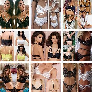 New-Women-Lace-Floral-Bralette-Bralet-Bra-Bustier-Crop-Top-Cami-Casual-Tank-Tops