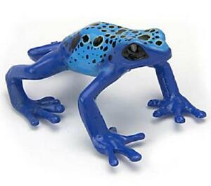 RARE-Kaiyodo-Yujin-Colorata-Blue-Poison-Poisonous-Dart-Frog-Figure