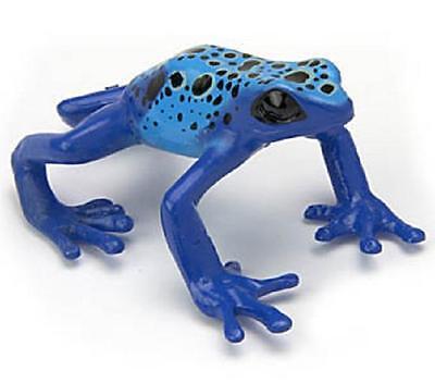 RARE Kaiyodo Yujin Colorata Blue Poison / Poisonous Dart Frog Figure