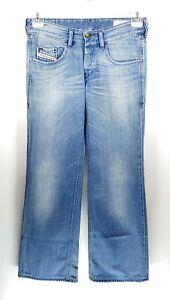 Diesel Vixy Wash 008LB W30 L33 blau Damen Designer Denim Jeans Hose Retro VTG