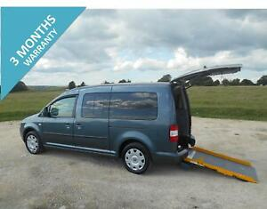 2010-VOLKSWAGEN-CADDY-MAXI-LIFE-7-SEAT-WHEELCHAIR-ACCESSIBLE-DISABLED-VEHICLE