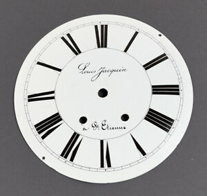 COMTOISE-ZIFFERBLATT-D-190-Uhrenzifferblatt-f-Uhrwerk-Wanduhr-Uhr-clock-dial