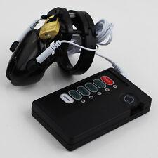 Plastic CB6000S Male Chastity Belt Estim Electro Shock Cage Device Lockdown Z922