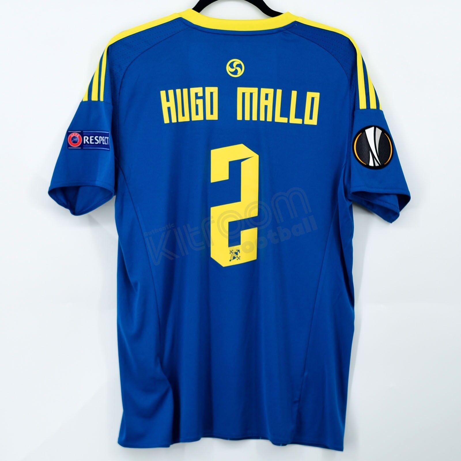 2016-17 Celta Vigo Europa League Away Shirt Hugo Mallo Adidas BNWT M Jersey