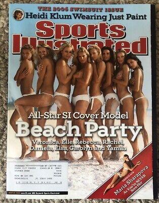 2006 Sports Illustrated magazine All Star Beach Party Swimsuit Issue, Heidi Klum   eBay