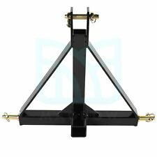 3 Point 2 Receiver Drawbar Adapter Trailer Hitch Category One Tractor Tow Hitch