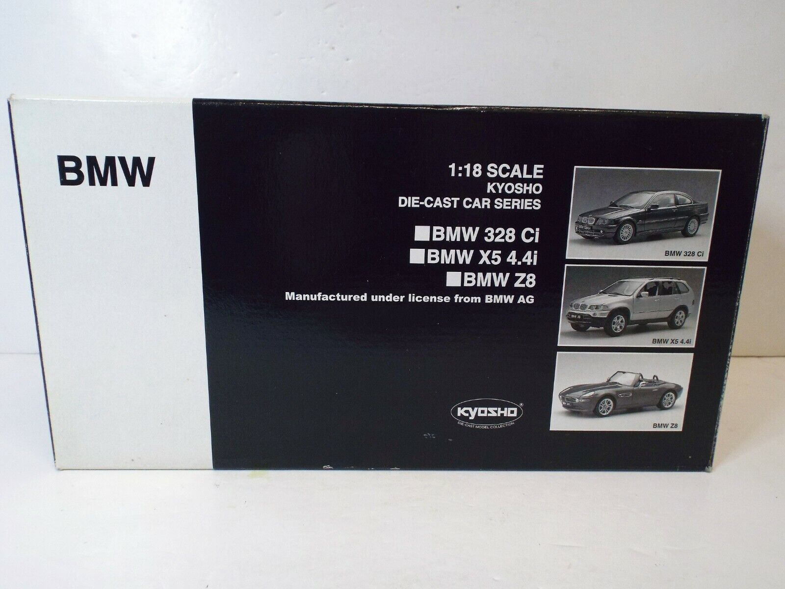 1 18 KYOSHO 08511R BMW Z8 (Rosso) come nuovo in scatola (1 18 124)