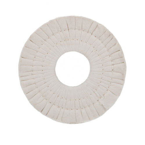 6 Inch Cotton Airway Buffing Cloth Wheel Polishing Pad Compound Tool 40 Plys