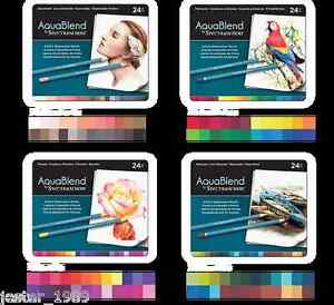 Crafters Companion Essentials Spectrum Noir AquaBlend Pencils