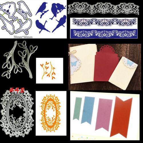 75 Styles Metal Cutting Die For DIY Scrapbooking Album Paper Cards Embossing TPD