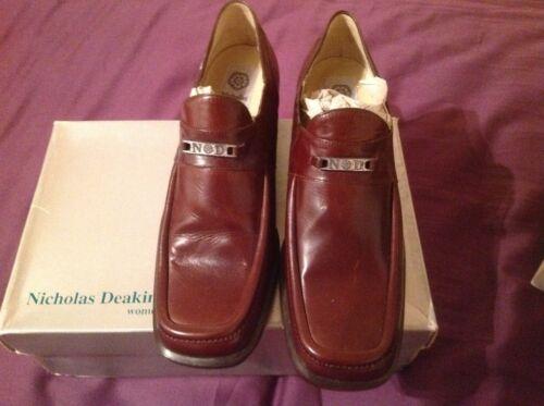 4 Classic Brown Dark Nicholas Deakin Loafer Size tqYxZEx