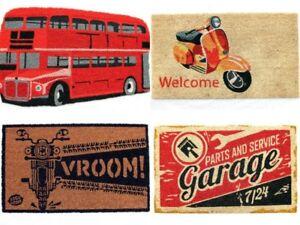 Natural-Coir-Doormat-Rubber-Backed-Entrance-Indoor-amp-Outdoor-Heavy-Duty