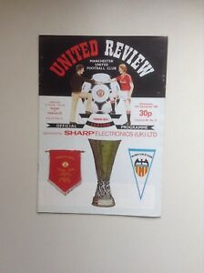 1982-83-Manchester-United-Football-Programmes-Various-Fixtures
