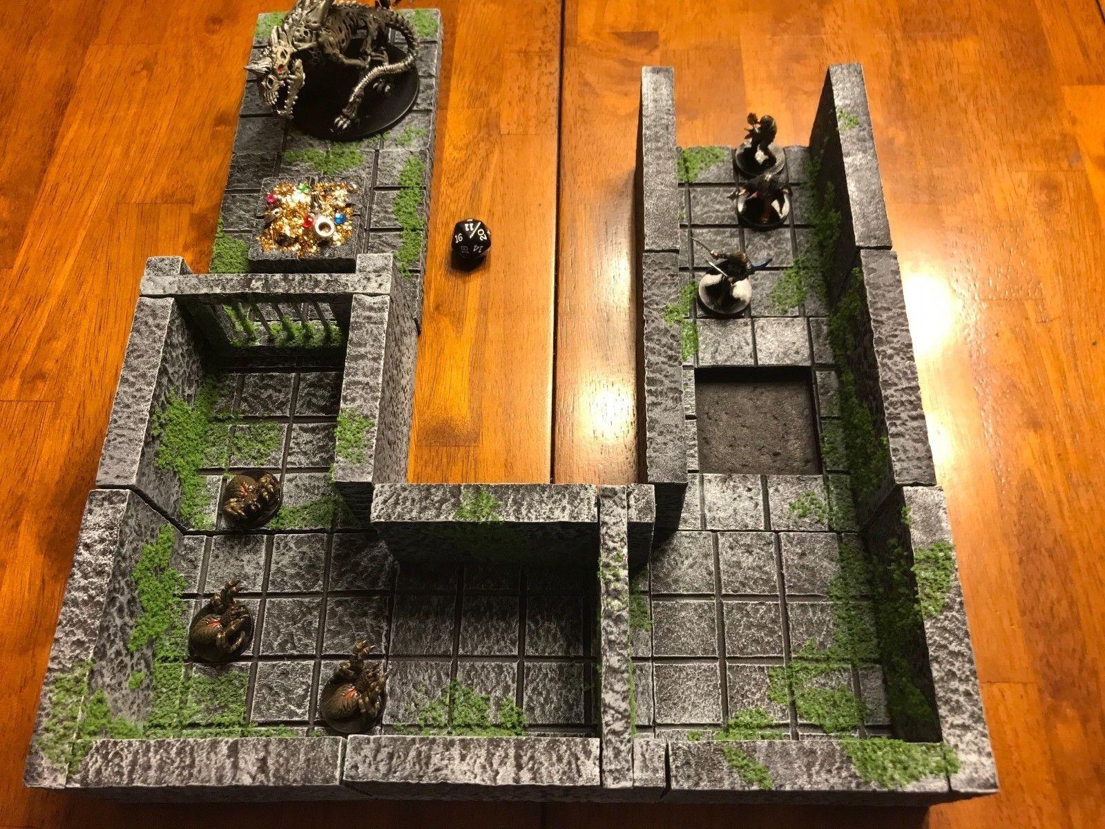 Dungeon Dungeons d&d Pathfinder Dragons & Tabletop Terrain