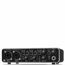 BEHRINGER UMC204HD 24-Bit/192kHz USB audio interface JAPAN With track F/S