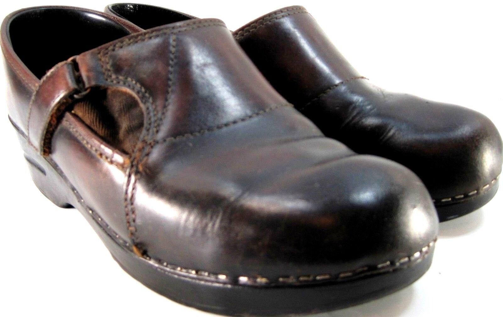 ultimi stili Dansks Dansks Dansks donna Clogs Dimensione 9 Euro 40 Marrone Vintage  marchio in liquidazione