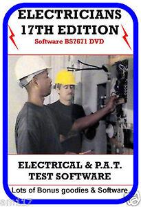 Best Ever Electrical Test Software 17th Edt + BONUS LOT Pat test  3rd Amendment