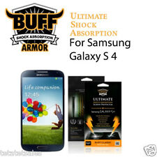 BUFF Screen Protector Film Samsung Galaxy S4 TechArmor Amzer Zagg Ghost TechSkin
