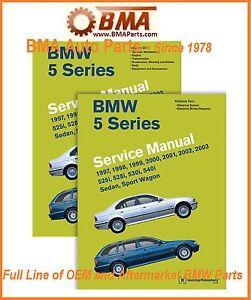 bmw 5 series service manual e39 volume 2