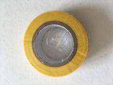 1 Rouleau de Scotch Isolant Electrique 10 mètres 15 mm couleur jaune neuf