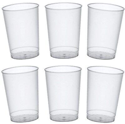 400 Trinkbecher glasklar 0,1 Einwegbecher Plastikbecher