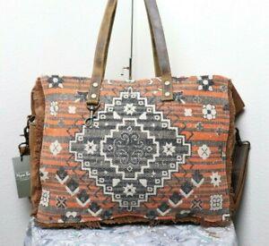 Myra Bag Indigenous Extra Large Weekender Tote And Shoulder Bag Vintage Purse Ebay Get the lowest price on your favorite brands at poshmark. ebay