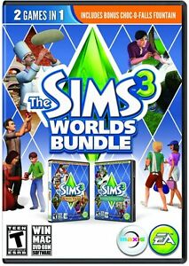 Details about The Sims 3 Worlds Bundle: Hidden Springs & Monte Vista  [PC-DVD MAC Computer] NEW