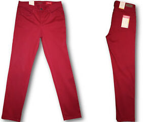 Stooker-Damen-Stretch-Hose-Zermatt-SLIM-FIT-Tibitan-Red