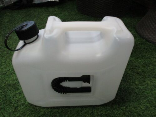 Juwel Greenbase Benzinkanister 10 L Transparent mit Auslaufrohr NEU