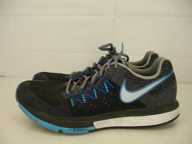 Mens 14 Nike Air Zoom Vomero 10 Cool Grey Blk White Blue Lagoon 717440 001 Shoes