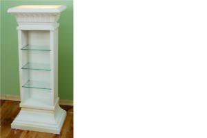 Design-Vitrine-Regal-Glas-Saeule-Vitrinen-Regale-Lampe-Schrank-Wohnzimmer-6893