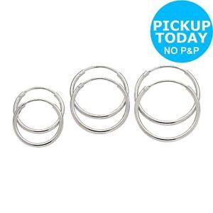 34d4042d2 Revere Sterling Silver Hoop Earrings - Set of 3 - 18mm 763397011645 ...