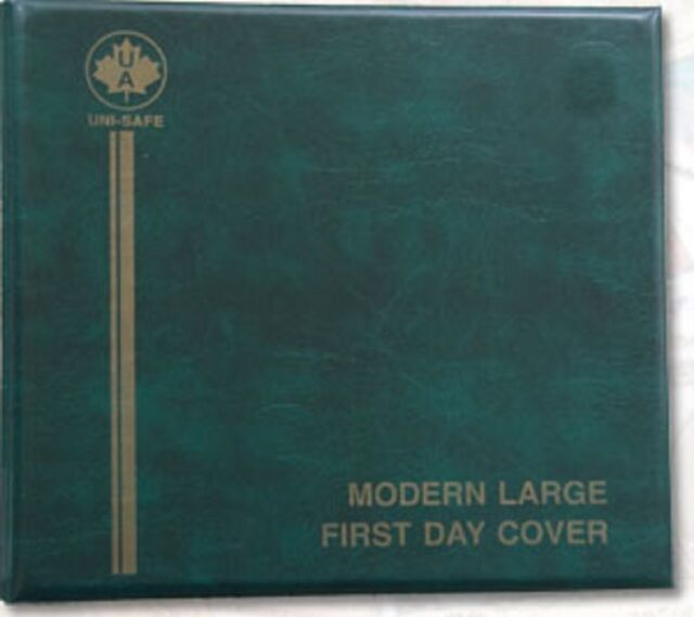 """Unisafe Modern Large """"Dual"""" FDC Album - 100 Cover Capacity ..."""