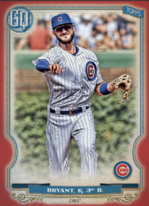 2020 Topps BUNT Kris Bryant Gypsy Queen RED Base Iconic! [DIGITAL CARD}