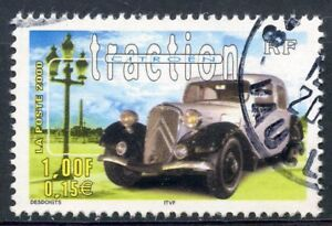 Initiative Stamp / Timbre France Oblitere N° 3318 Voiture / Citroen Traction DernièRe Technologie