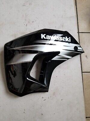 Polisport Radiator Scoops Left Side Black for Kawasaki KLR650 2008-2018