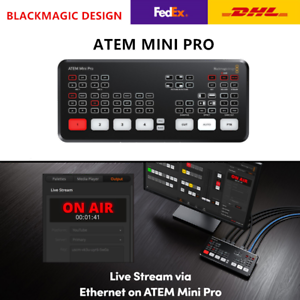 Uk Stock Blackmagic Design Atem Mini Pro Hdmi Live Stream Switcher Multi View Ebay