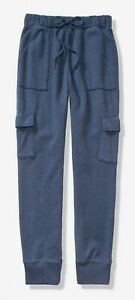 NWT-PINK-VS-VICTORIA-039-S-SECRET-HIGH-WAIST-CARGO-JOGGER-PANT-BLUE-XSMALL-FREE-SHIP